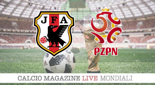 Giappone Polonia Australia Perù cronaca diretta risultato in tempo reale