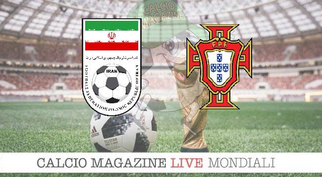 Iran Portogallo cronaca diretta risultato in tempo reale