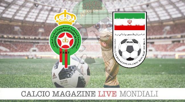 Russia 2018, Marocco - Iran: le formazioni ufficiali del match