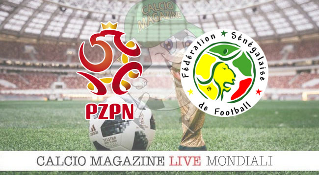 Polonia Senegal cronaca diretta risultato in tempo reale