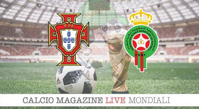 Portogallo Marocco cronaca diretta risultato in tempo reale