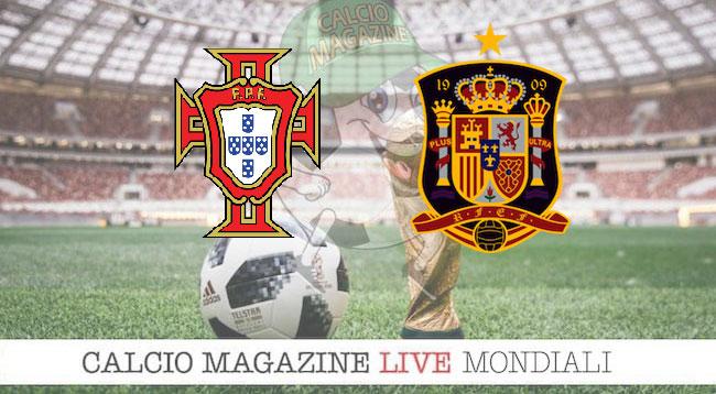 Portogallo Spagna cronaca diretta risultato in tempo reale