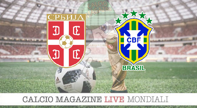 Serbia Brasile cronaca diretta risultato in tempo reale
