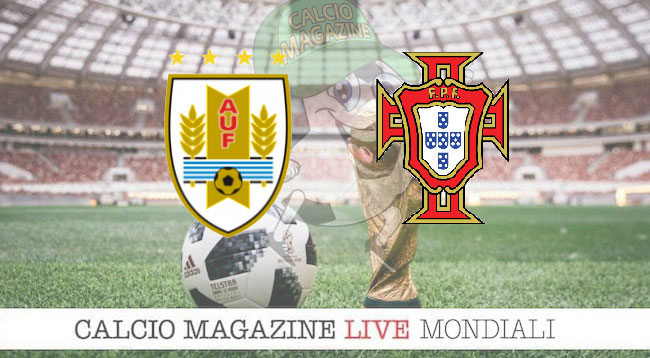 Uruguay Portogallo cronaca diretta risultato in tempo reale