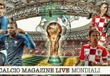 Francia Croazia cronaca diretta e risultato live