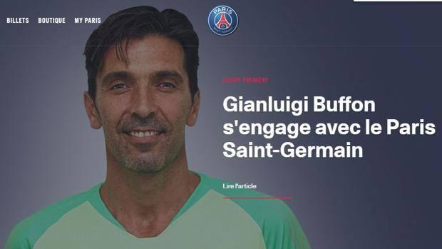 "Buffon si presenta al PSG: ""Porterò la mia fame di vittorie"""