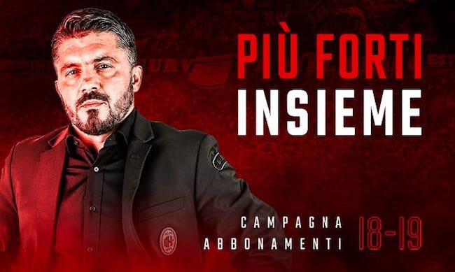 Abbonamenti Milan 2018 2019 prezzi informazioni
