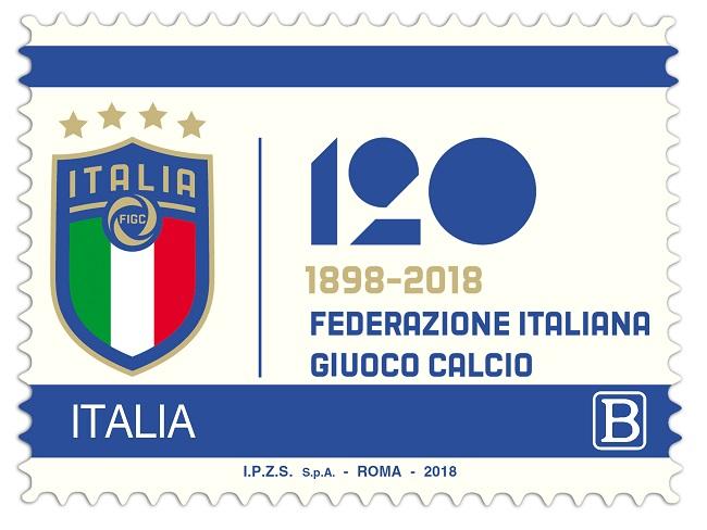 120° anniversario FIGC emesso francobollo celebrativo