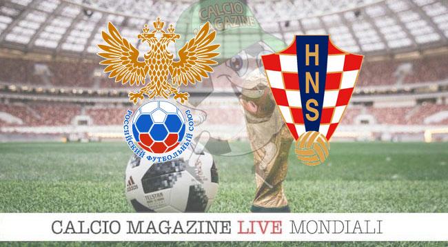 Russia - Croazia. le formazioni ufficiali del match