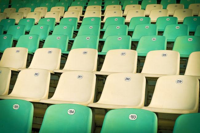 stadio posti a sedere