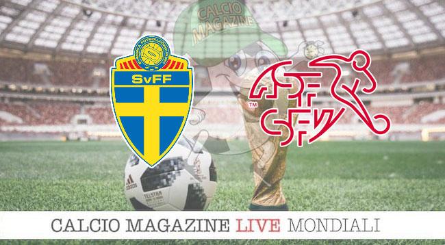 Svezia-Svizzera 1-0: scandinavi ai quarti