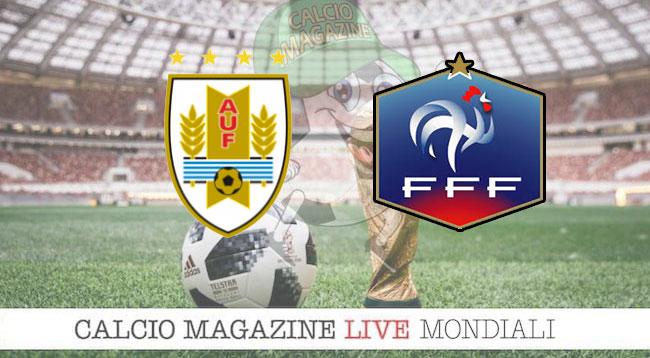 Uruguay Francia cronaca diretta risultato in tempo reale