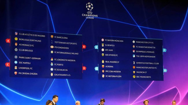 Calendario Partite Champions.Champions League 2018 2019 Il Calendario Completo Della