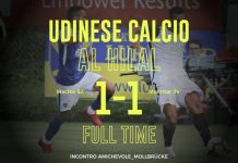 Udinese-Al Hilal 1-1, il tabellino: Mukhtar risponde a Machis