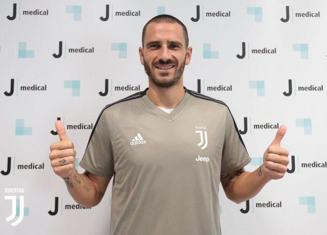 Serie A - Juventus, è il giorno del ritorno di Leonardo Bonucci