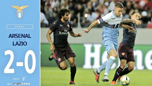 Arsenal-Lazio 2-0: tabellino e cronaca della partita