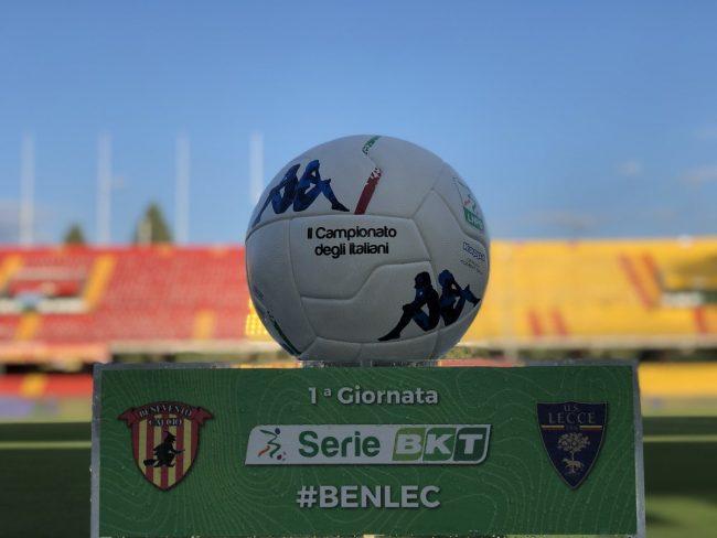 Benevento-Lecce 3-3: cronaca e tabellino della partita