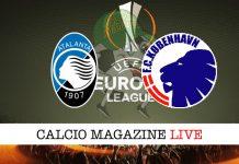 Atalanta Copenaghen cronaca diretta risultato live