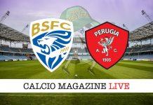 Brescia Perugia cronaca diretta risultato live