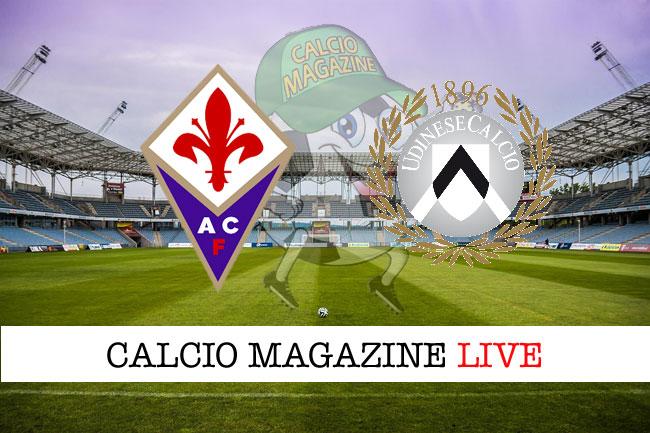 Fiorentina Udinese cronaca diretta live risultato in tempo reale