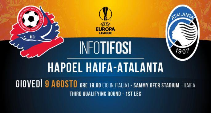 Hapoel Haifa Atalanta cronaca diretta risultato live