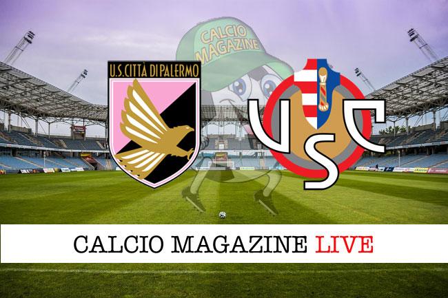 Palermo - Cremonese 2-2, il tabellino