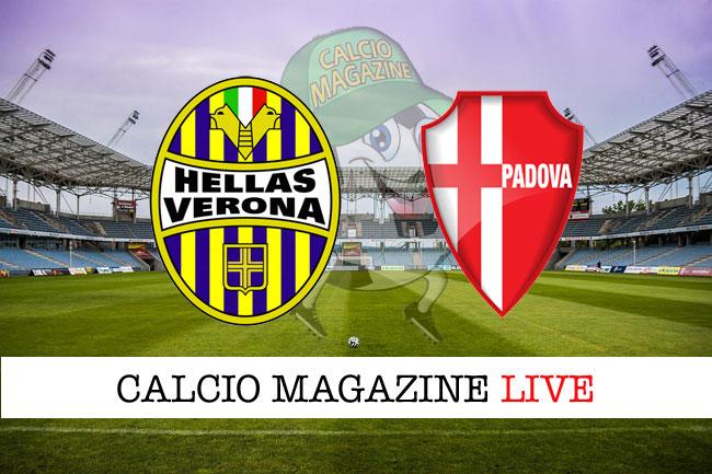 Verona Padova cronaca diretta risultato tempo reale