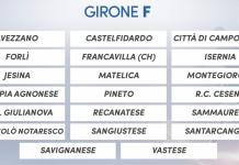 Serie D 2018/2019 - Il calendario completo del Girone F