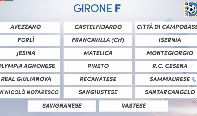 Serie D Girone D Calendario.Serie D 2018 2019 Il Calendario Completo Del Girone F
