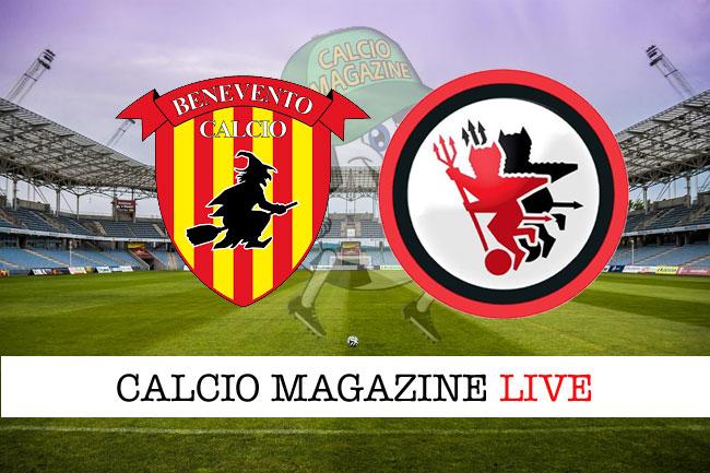 Benevento Foggia live cronaca risultato in tempo reale