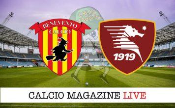 Benevento Salernitana cronaca diretta risultato live