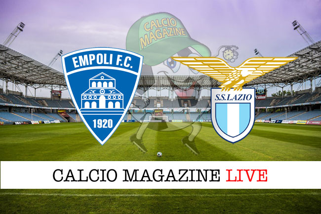 Empoli Lazio cronaca diretta risultato live