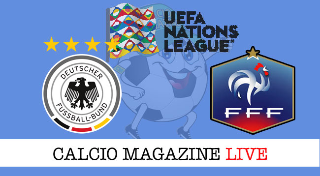 Germania Francia cronaca diretta risultato live