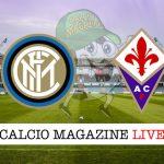 Inter Fiorentina live cronaca risultato tempo reale