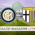 Inter Parma cronaca diretta risultato live