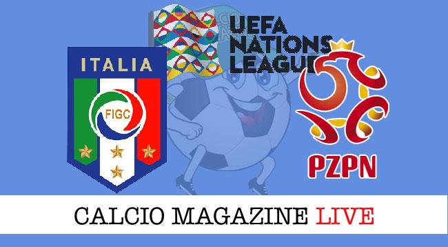 Italia Polonia cronaca diretta risultato live