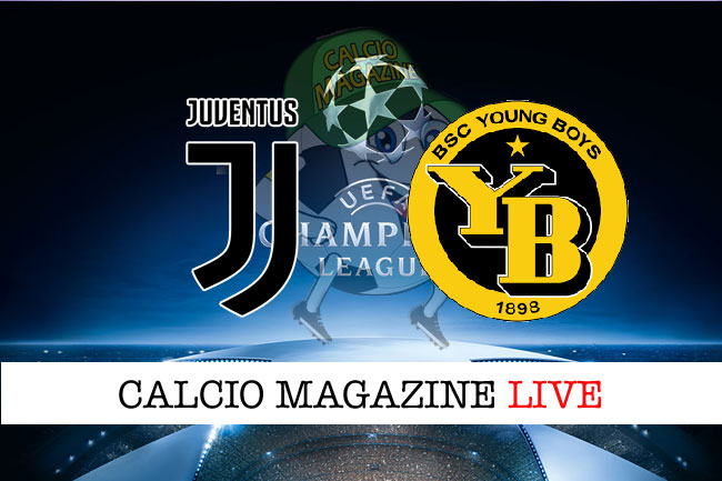 Juventus-Young Boys Diretta Tv e streaming live: dove vederla