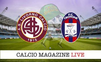 Livorno Crotone cronaca diretta risultato tempo reale