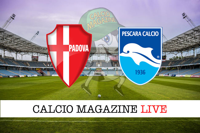 Padova Pescara live cronaca risultato tempo reale