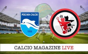Pescara Foggia live cronaca risultato tempo reale