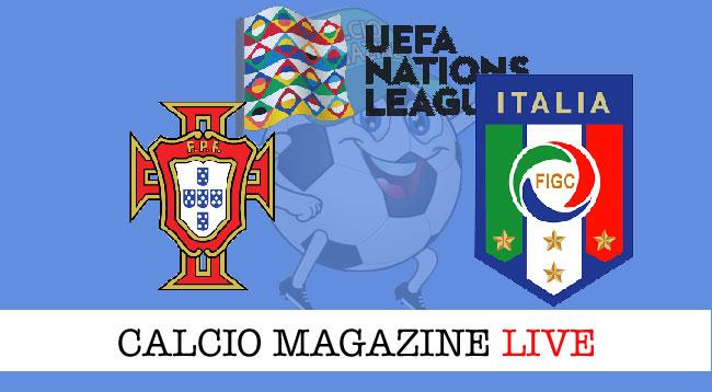 Portogallo Italia cronaca diretta risultato live