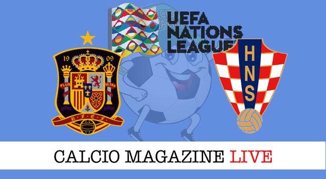 Spagna Croazia cronaca diretta risultato live