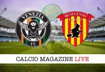 Venezia Benevento cronaca diretta risultato live