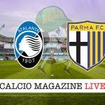 Atalanta Parma cronaca diretta live risultato tempo reale