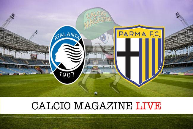 Atalanta Parma cronaca diretta risultato tempo reale