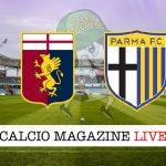 Genoa Parma cronaca diretta risultato in tempo reale