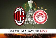 Milan Olympiakos live cronaca risultato tempo reale
