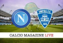 Napoli Empoli cronaca diretta risultato tempo reale