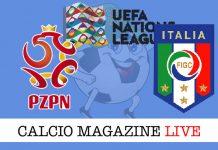 Polonia Italia live cronaca risultato tempo reale