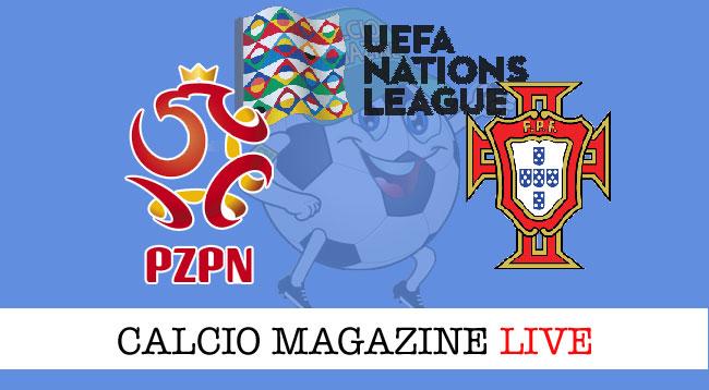 Polonia Portogallo live cronaca risultato tempo reale